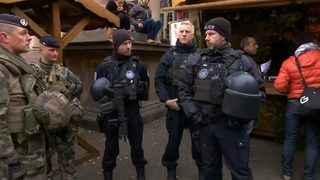 VIDEO: Suspect in French attack killed by police