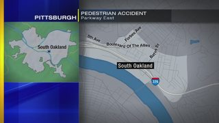 Man struck by tractor-trailer on Parkway East