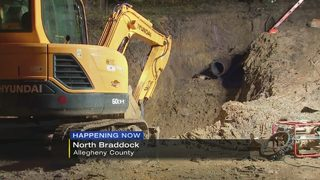 Water main break interrupts service in several communities