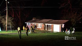 RAW VIDEO: House fire in Fayette County
