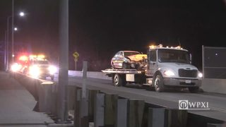RAW VIDEO: Head on crash on New Castle bridge
