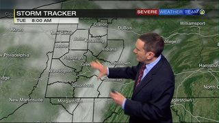 More sunshine Tuesday, but still cold (12/18/18)