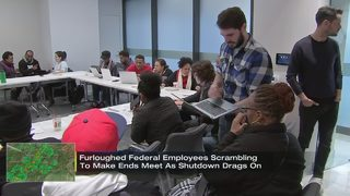 Furloughed federal employees scrambling to make ends meet as shutdown drags on