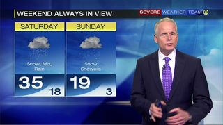 Arctic cold to wrap up weekend