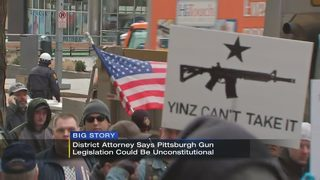 DA: Proposed Pittsburgh gun legislation would be found unconstitutional