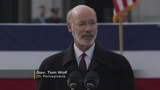 Gov. Wolf begins second term as Pa. governor; Fetterman joins him in Harrisburg