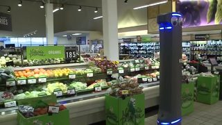 Robot to help out in supermarkets