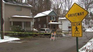 Water main break floods home, damages yards in West Mifflin