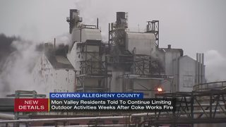 Health department issues air quality update for Clairton Coke Works area