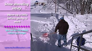VIDEO: Snow shoveling safety