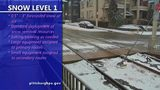 VIDEO: Snow storm levels explained