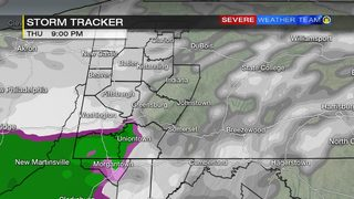 Next round of wintry weather moving in Thursday (1/17/19)