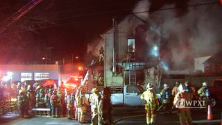 RAW VIDEO: House fire in Port Vue