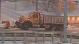 Ice, snowy mix expected in south western Pa. counties