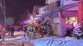 RAW VIDEO: Mt. Oliver house fire