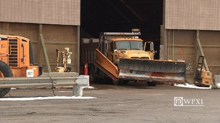 RAW VIDEO: PennDOT Butler plow preps