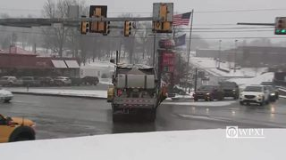 RAW VIDEO: Snow falling in Butler County