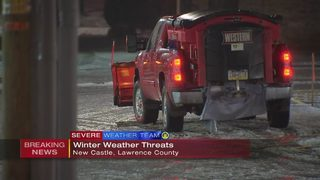 Rain-snow mix coats ground in Lawrence Co.