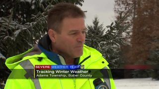 Adams Township say clearing roads could take few hours