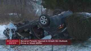Police chase involving stolen vehicle ends in major crash