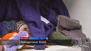 Warming centers open during dangerous cold