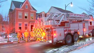 RAW VIDEO: Hill District house fire