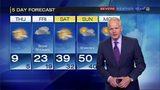 Temperatures increase into next week