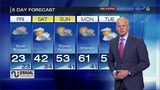 Temperatures could reach 60s early next week