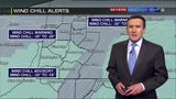 Wind chill warnings, advisories continue Thursday (1/31/19)