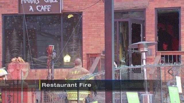 Harris Grill Fire Fire Burns At Popular Shadyside
