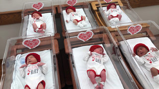 Photos: Babies at St. Clair Hospital dressed for Valentine