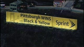 City of Pittsburgh still fighting to get Sprint ad removed from Mt. Washington
