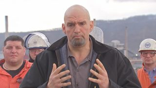 Lt. Gov. Fetterman tours Clairton Coke Plant, gives update on repairs after fire
