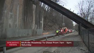 McArdle Roadway to close Saturday for hillside clearing