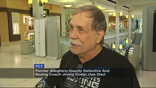 Former Allegheny Co. detective Jimmy Cvetic dies