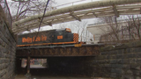 Public safety officials are concerned about the safety of the Merchant Street railraod bridge on Pittsburgh's North Side.