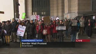 Border wall protest being held in Pittsburgh Monday