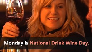 VIDEO: National Drink Wine Day