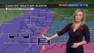 Winter weather alerts issued ahead of Wednesday storm (2/19/19)