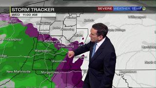Winter weather advisories, storm warnings in effect Wednesday (2/20/19)
