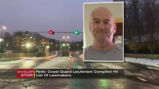Feds: Coast Guard lieutenant compiled hit list of lawmakers