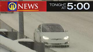 Snow, freezing rain lead to crashes, traffic issues across region