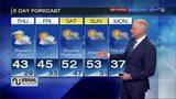 Temperatures rising through the week