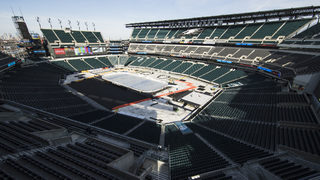 Rain could impact Penguins-Flyers Stadium Series game