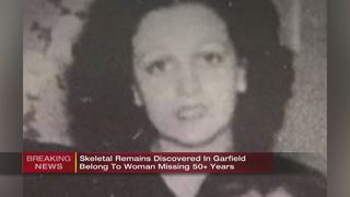 Police identify remains of woman missing since 1964