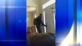 Suspected thieves caught on camera rifling through South Fayette home