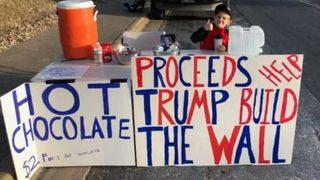 VIDEO: Boy raising money for border wall