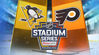 Penguins-Flyers Stadium Series by the numbers