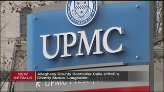 Allegheny County controller calls UPMC