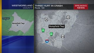 3 transported to hospital after head-on crash in Westmoreland County